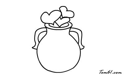 花瓶图片_学习简笔画_少儿图库_中国儿童资源网