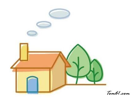 小房子2图片_学习简笔画_少儿图库_中国儿童资源网
