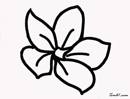 樱花简笔画图片步骤
