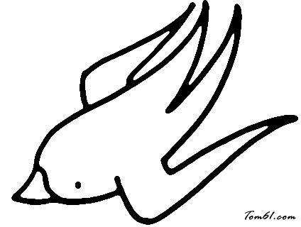 小燕子4图片_学习简笔画_少儿图库_中国儿童资源网