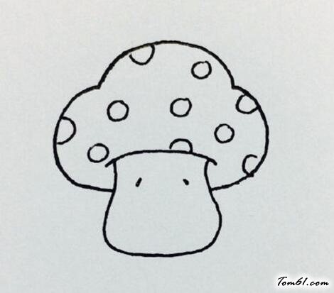 卡通小蘑菇