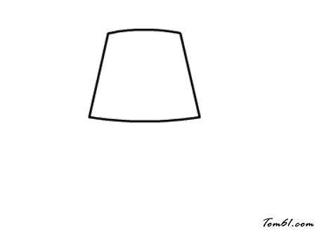 台灯简笔画设计