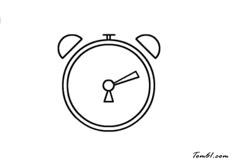 闹钟5图片_学习简笔画_少儿图库_中国儿童资源网