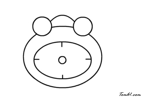 闹钟7图片_学习简笔画_少儿图库_中国儿童资源网