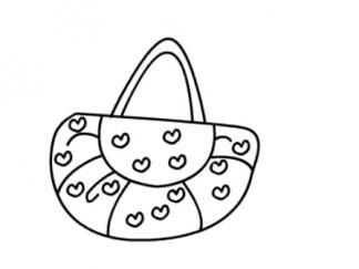 手提包包图片 学习简笔画 少儿图库