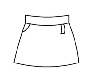 变色龙简笔画_短裙图片_学习简笔画_少儿图库_中国儿童资源网