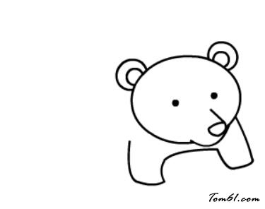 藍貓學畫畫全集畫棕熊