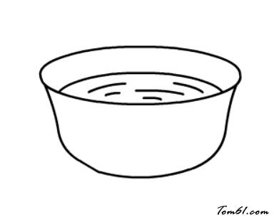 一碗汤图片_学习简笔画_少儿图库_中国儿童资源网