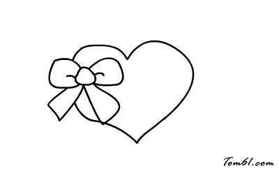 爱心盒子图片_学习简笔画_少儿图库_中国儿童资源网
