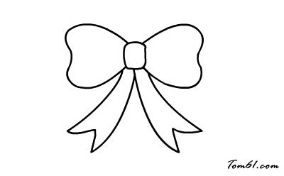 蝴蝶结图片_学习简笔画_少儿图库_中国儿童资源网