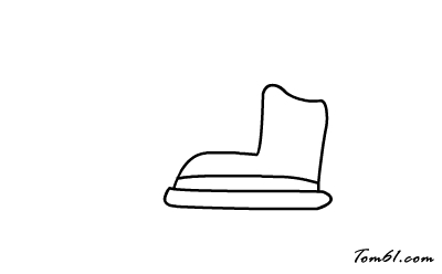 溜冰鞋图片_学习简笔画_少儿图库_中国儿童资源网