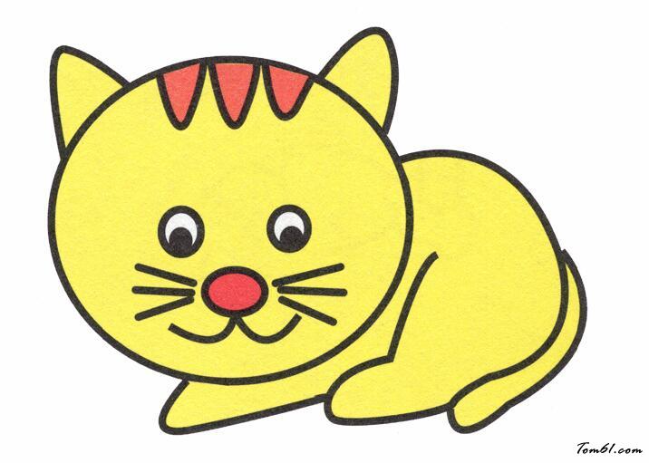 小花猫卡通
