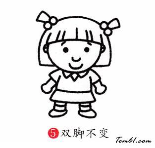 变色龙简笔画_妹妹图片_学习简笔画_少儿图库_中国儿童资源网