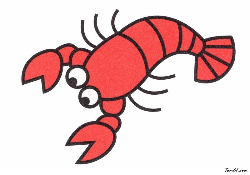 小龙虾图片_学习简笔画_少儿图库_中国儿童资源网