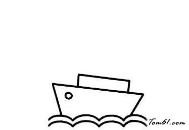 变色龙简笔画_邮轮2图片_学习简笔画_少儿图库_中国儿童资源网