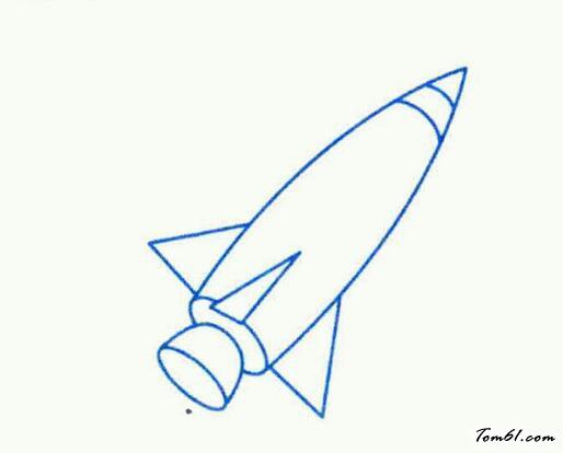 火箭的结构图幼儿了解