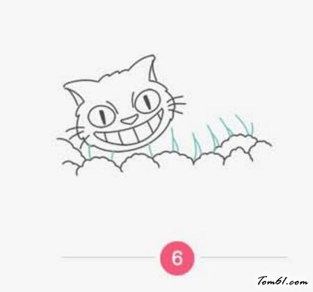 龙猫车图片_学习简笔画_少儿图库_中国儿童资源网