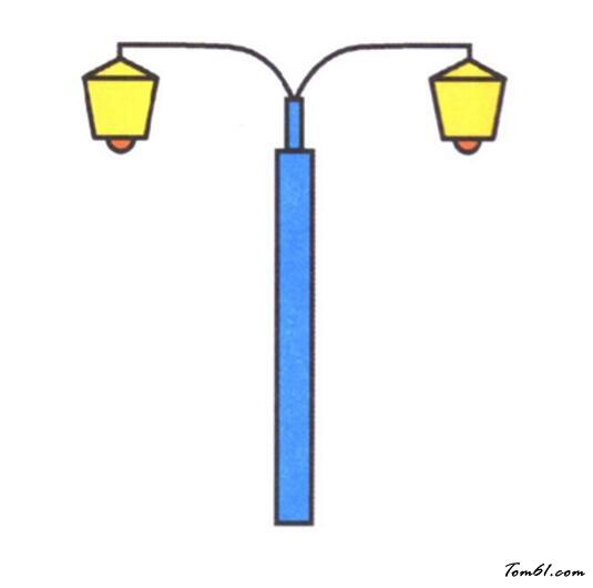 路灯3图片_学习简笔画_少儿图库_中国儿童资源网