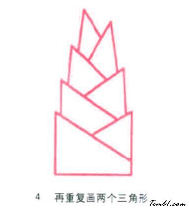 竹笋4图片_学习简笔画_少儿图库_中国儿童资源网