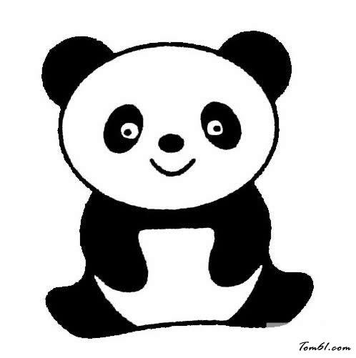 熊猫7图片_学习简笔画_少儿图库_中国儿童资源网