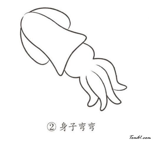 乌贼3图片_学习简笔画_少儿图库_中国儿童资源网