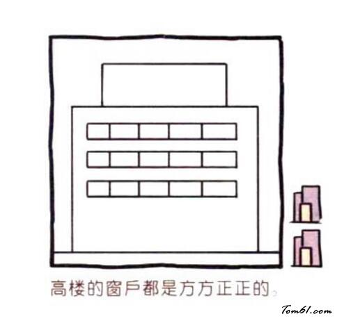 变色龙简笔画_医院大楼图片_学习简笔画_少儿图库_中国儿童资源网