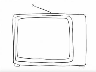 电视机74