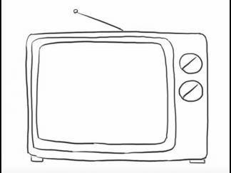 电视机75