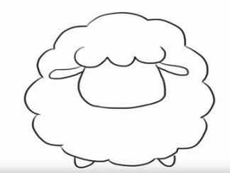 可爱的小绵羊4