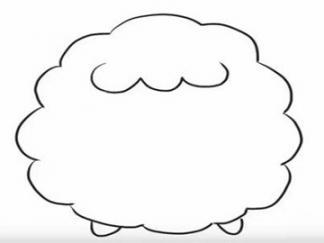 可爱的小绵羊3