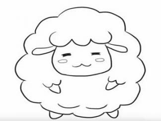 可爱的小绵羊6