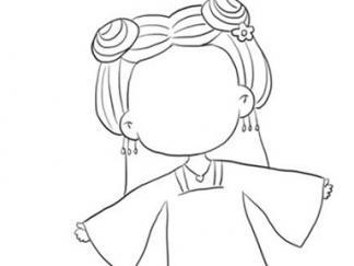 幼儿简笔画图片花千骨_花千骨图片_学习简笔画_少儿图库_中国儿童资源网