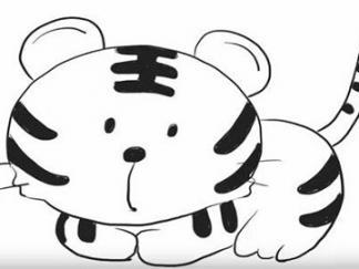 可爱老虎6
