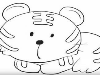 可爱老虎4