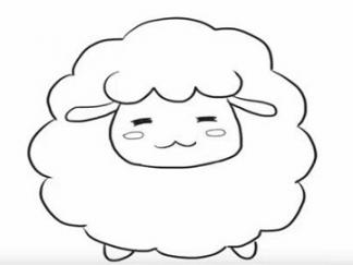 可爱的小绵羊5