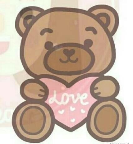 可愛的小熊