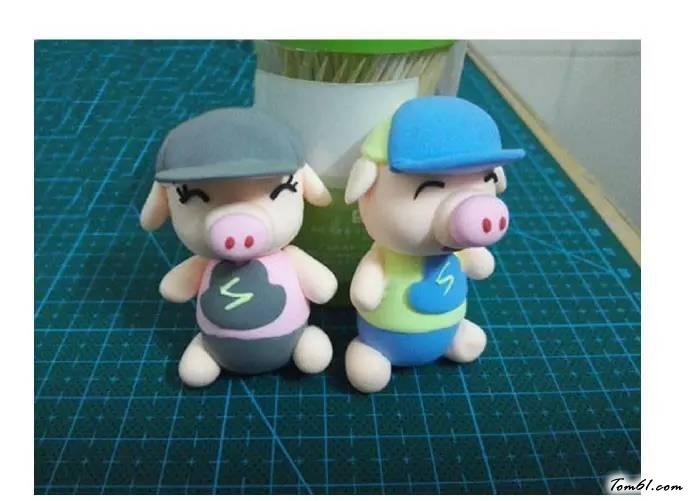 小猪2的彩泥橡皮泥制作教程图解
