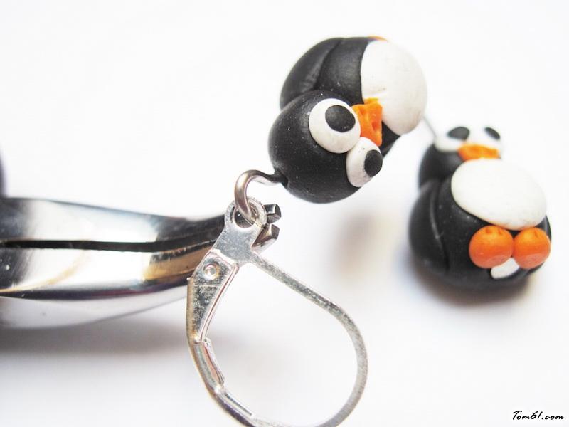 qq小企鹅的彩泥橡皮泥制作教程图解