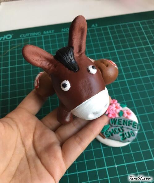 小蠢驴的彩泥橡皮泥制作教程图解