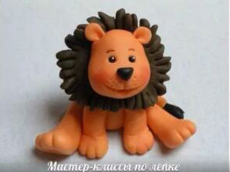 獅子的彩泥橡皮泥制作教程圖解4
