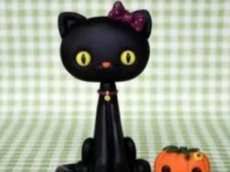 黑貓的彩泥橡皮泥制作教程圖解2