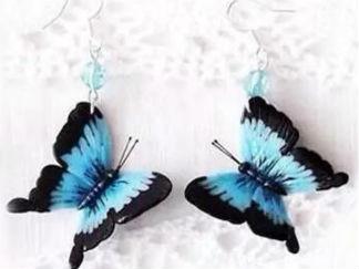 蝴蝶3的彩泥橡皮泥制作教程圖解