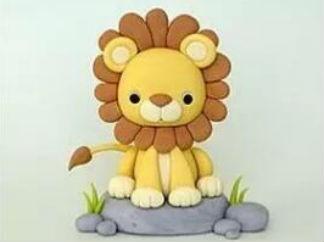 獅子的彩泥橡皮泥制作教程圖解6