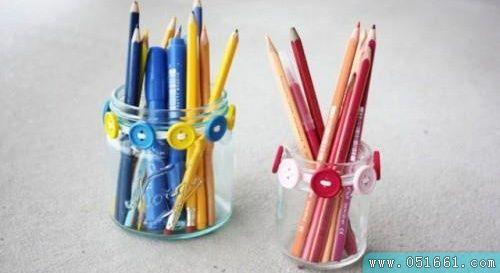 笔筒diy废物利用的创意制作图解教程图片