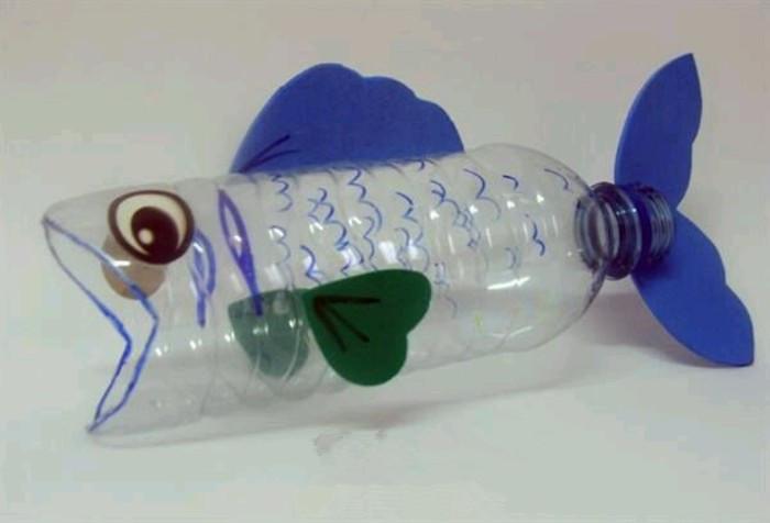 创意小鱼diy废物利用的创意制作图解教程