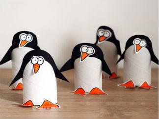 企鹅的废物利用的创意制作图解教程