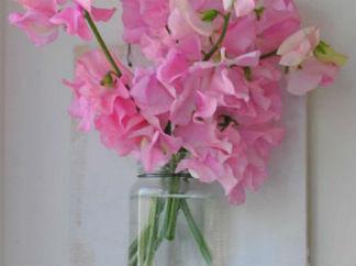 墙壁鲜花挂件的废物利用的创意制作图解教