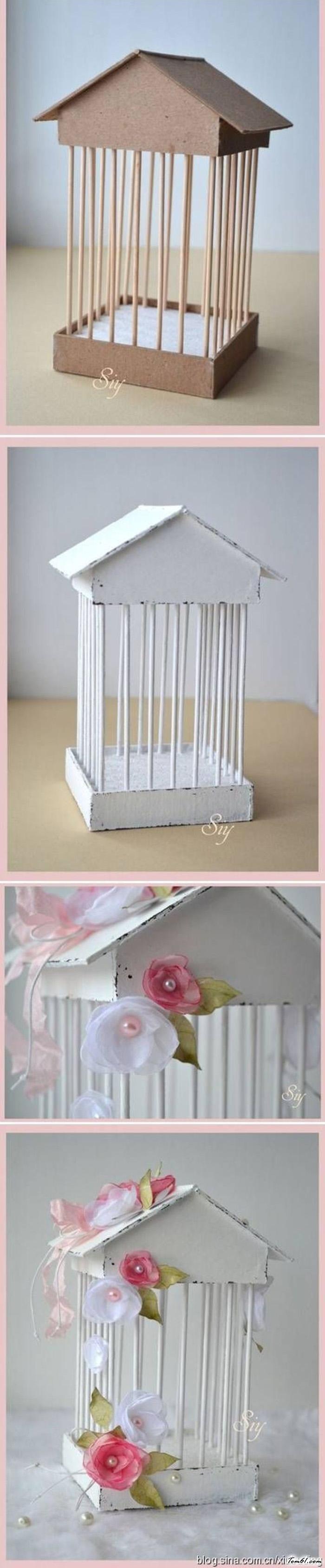 泡沫硬纸板的废物利用的创意制作图解教程