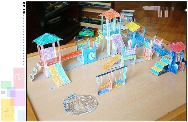 纸箱城堡制作图解