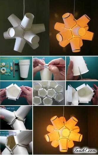 紙杯的廢物利用的創意制作圖解教程6
